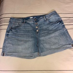Old Navy high waisted jean shorts